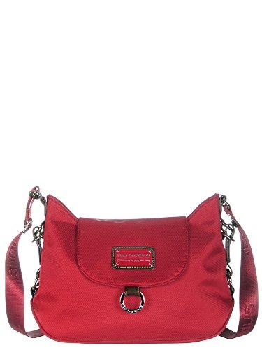Ted Lapidus, Borsa a secchiello donna rosso rosso 33.0 (L) x 23.0 (H) x 10.0 (E) cm