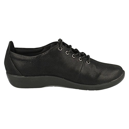 Clarks Sillian Tino Black Grenadine