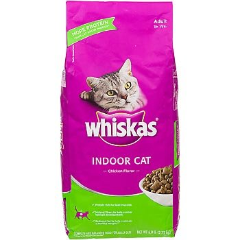 Whiskas Indoor Dry Cat Food, 6-Pound, My Pet Supplies