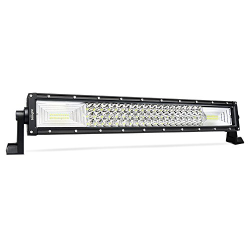 LED Light Bar Nilight 22Inch 270W Triple Row 27000LM Flood Spot Combo Beam Led Bar Driving Lights Boat Lights Super Bright Led Off Road Lights for Trucks,2 Years Warranty