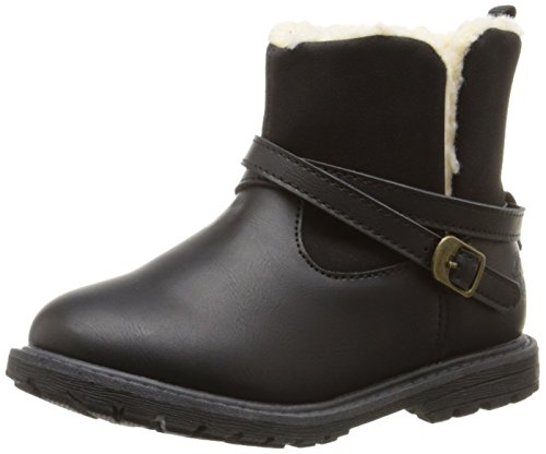 Price comparison product image OshKosh B'Gosh Tess G Moto Boot (Toddler / Little Kid),  Black,  9 M US Toddler