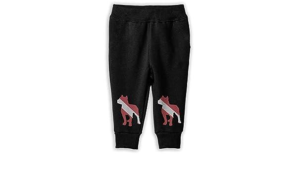 Kids /& Toddler Sports Pants NJKM5MJ Patriotic Pitbull Dive Flag Sweatpants
