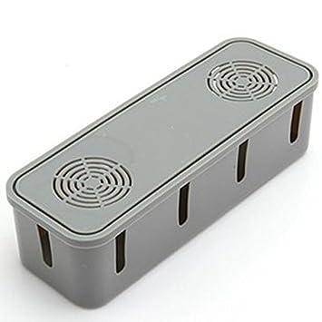 Pixnor Multi Power Plug Cable caja anti-polvo seguridad caja ...