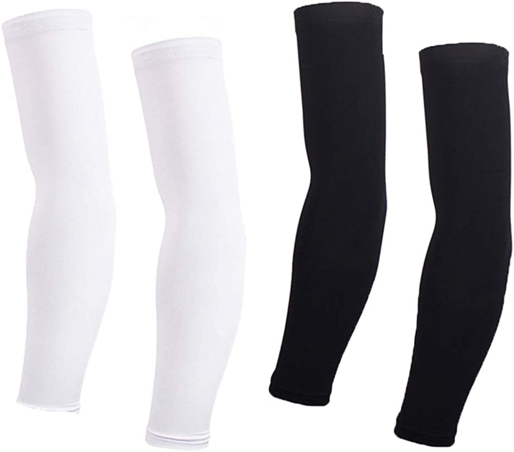 Arm Sleeves For Women Men Cycling Armwarmers Summer UV Sun Protection: Clothing
