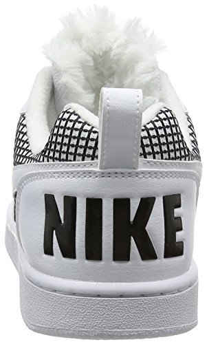 Se Donna Basket white Scarpe Court Borough Nike black white Bianco Da SxwEAf7Cq