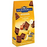 Ghirardelli Minis Pouch, Milk Chocolate Caramel Filling, 4.6 oz (Pack Of 6)