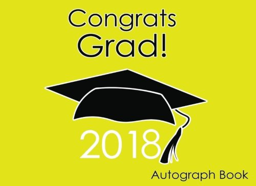 Autograph Book for Graduation 2018 Gift for School or Party Yellow PDF