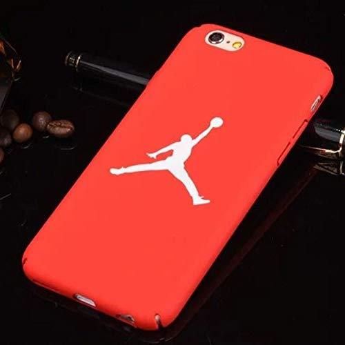 1 piece Air Jordan 23 Cover Case For Iphone 7 Hard Plastic Matte Case For iphone 8 7 6 6s Plus 5 5s Se Phone Cover Bulls Sports Nba Capa