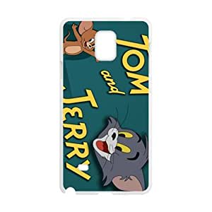 DAZHAHUI Tom and Jerry Cell Phone Case for Samsung Galaxy Note4