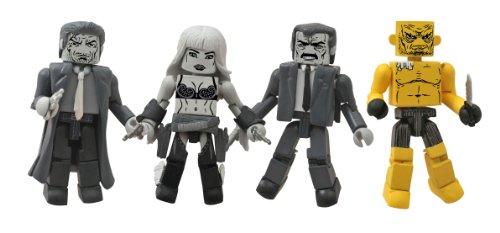Diamond Select Toys Sin City Movie Minimates Series 1 Box Set