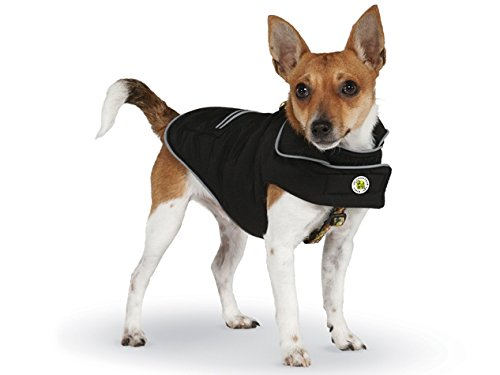 Up Country Black Sport Puffer Coat for Dogs - Size 21