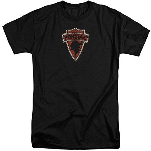Pontiac- Vintage Arrowhead Emblem (Big & Tall) T-Shirt Size XXXL