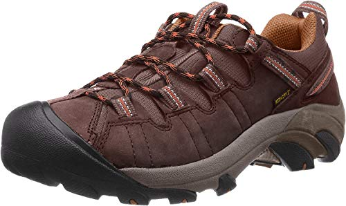 KEEN Men's Targhee II Hiking Shoe,  Cascade Brown/Brown Sugar - 11 D(M) US