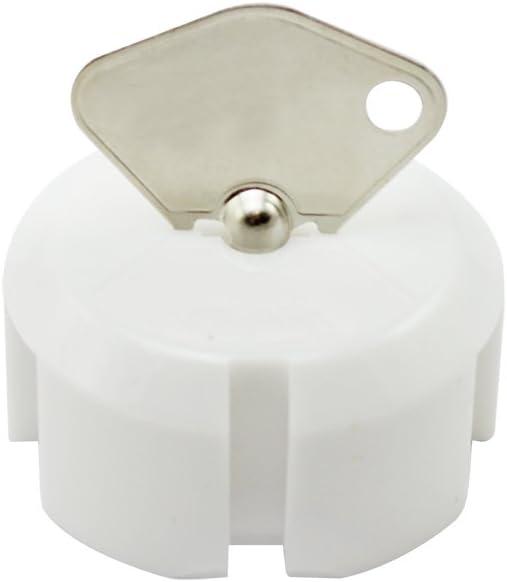 15 Piezas com-four/® Fusible de 15x con Llave met/álica protecci/ón /óptima para beb/és y ni/ños peque/ños