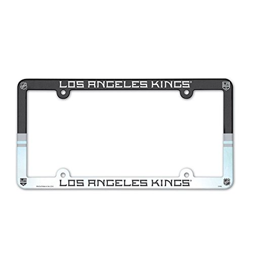 WinCraft NHL Los Angeles Kings License Plate with Full Color Frame