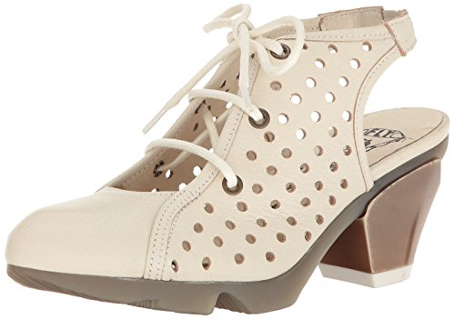 Fly London Womens Ozie987fly Vestito Sandalo Off Mousse Bianca