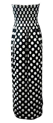 Rayure Femme Fast Tie Imprim Plus Floral Robe Dye Fashion Maxi Lopard De Dot Taille Noir Polka r0wSTxq07