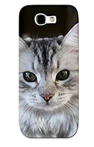 linfenglinNew Arrival Cats Animals Green Eyes For Galaxy Note 2 Case Cover