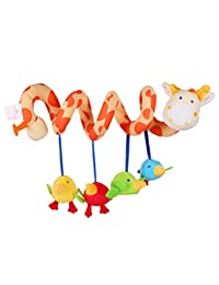 ELENKER Giraffe Baby Crib Toy from Wrap Around Crib Rail Toy or Stroller Toy Favorite Baby Toys BOBEBE Online Baby Store From New York to Miami and Los Angeles