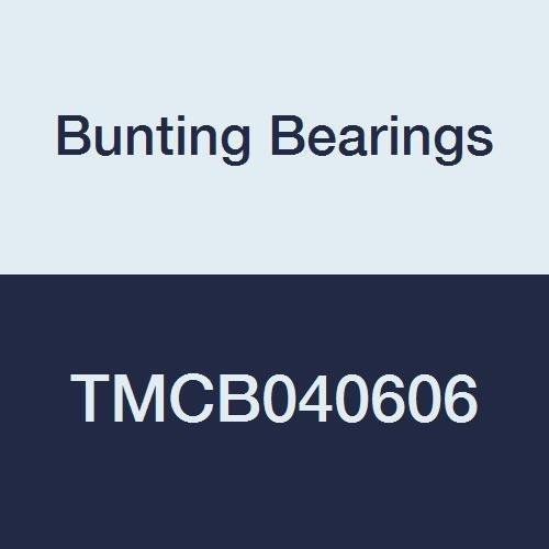 1//4 Bore x 3//8 OD x 3//4 Length 1//4 Bore x 3//8 OD x 3//4 Length TMCB040606A1 Bearings Cast Bronze C96900 Plain Bunting Bearings TMCB040606 Sleeve