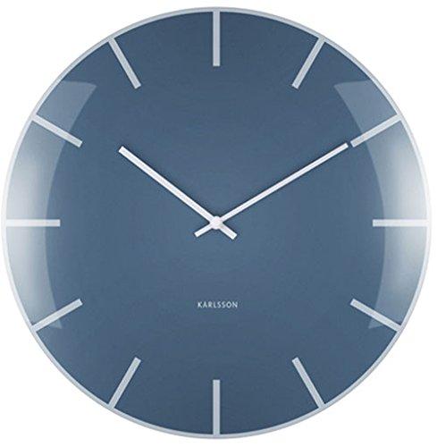 Karlsson Wall Clock, Blue, One Size