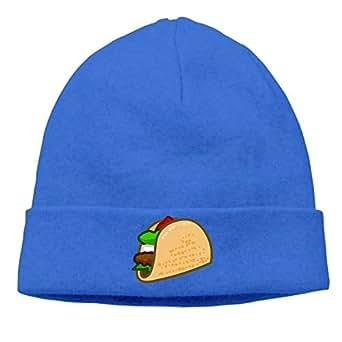 Men Women Clip Art Taco Beanie Winter Warm Knitting Hats
