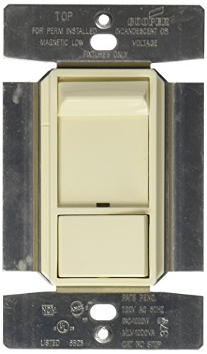 Eaton SI10P-A Skye 3-Way Single-Pole Full Slide Decorator Dimmer with Preset