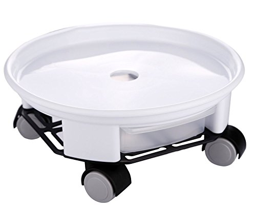 large black plastic pot - 8