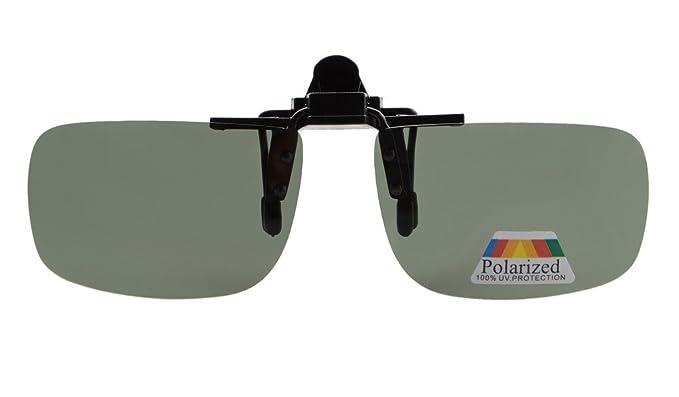Eyekepper Gafas de Sol Polarizadas Retangulares Volvuetas con Clip G15: Amazon.es: Ropa y accesorios
