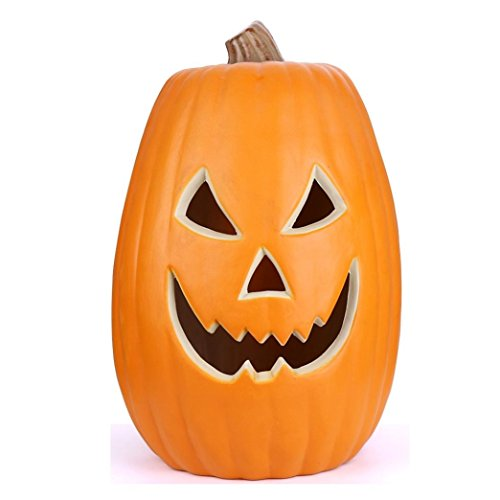[Jack-O-Lantern, Anxinke Lantern Light Hanging Halloween Props Pumpkin, Halloween Decoration Hard Plastic Lamp Pumpkin] (Novel Halloween Costume Ideas)