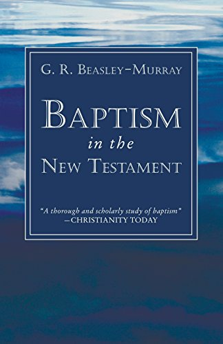 Baptism in the New Testament:
