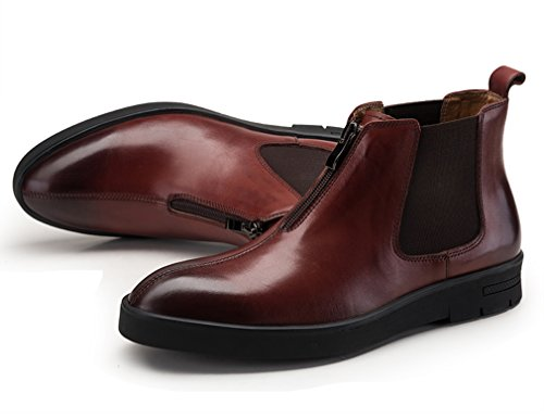Stivali uomo uomo Dilize Brown Dilize Stivali Red 5wpHq