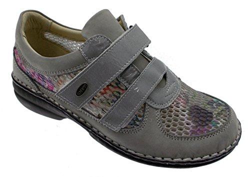 Supplémentaire Femme Gris Chaussures Multicolore M2639 Loren Plantaire Orthopédiques Grande ZR8npXq
