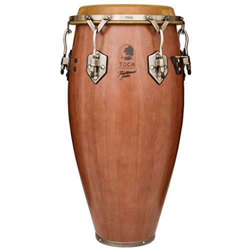 Series Wood Congas (Toca 3911-3/4D Traditional Series Conga - Dark Wood Finish)