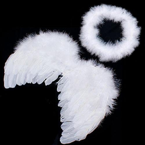 SODIAL(R) New Infant Baby Kids Angel Fairy Wing Costume Photo Prop (Angel Costumes For Kids)