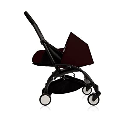 la silla de paseo más increible jamás imaginada Babyzen YoYo 0+ mesi Black chasis negro