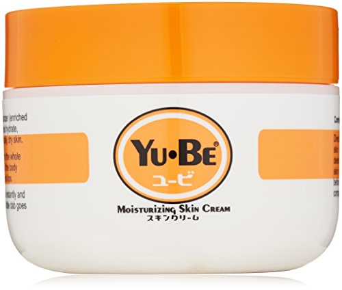 Yu-Be: Japan's secret for dry skin relief. Deep hydrating moisturizing cream for face, hand and body. Fast acting & non-greasy. No artificial colors or fragrances. Jar, 2.2 Fl Oz