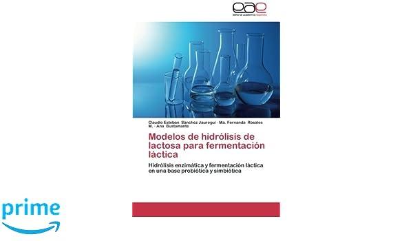 Modelos de hidrólisis de lactosa para fermentación láctica ...