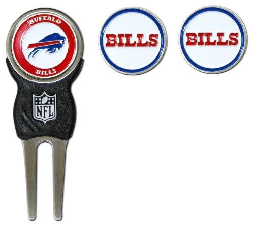 NFL Buffalo Bills Divot Tool Pack With 3 Golf Ball Markers