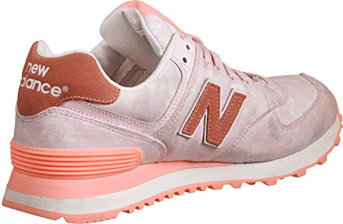 Nouvel Équilibre Damen 574 Sneaker Textile Rose