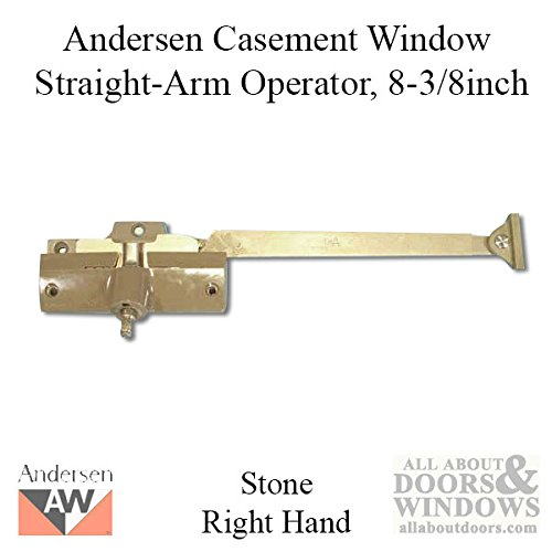 Andersen® Straight Arm Operator (Right Hand) with 8-3/8'' Arm Length in Stone Color (1974-1995)