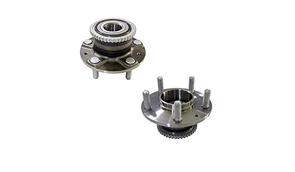 DRIVESTAR 512267x2 Set:2 New Rear Wheel Hubs /& Bearings fit Tucson Sportage FWD ONLY ABS
