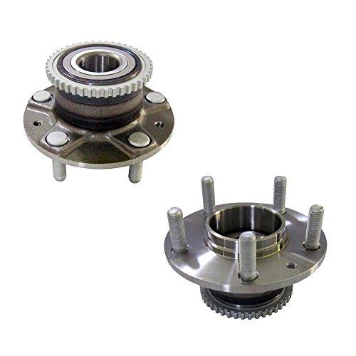 DRIVESTAR 512118x2 Set 2 New Rear Wheel Hubs & Bearings for Probe 626 Millenia Mx-6 RX-7