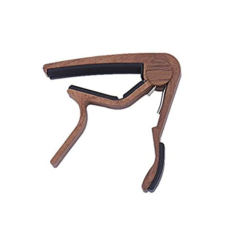 Hot Sale Quick Change Clamp Key Capo For Classic Guitar Acoustic Electric-Color:Redwood (How Do You Use Th)
