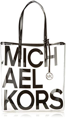Michael Michael Kors Hayley Clear Large North South Tote Bag in ()