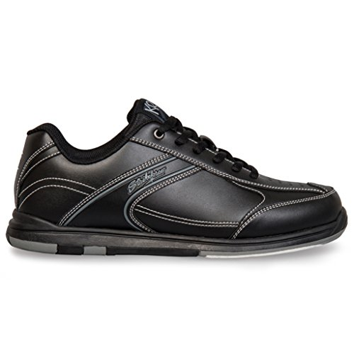 KR Strikeforce M-030-090 Flyer Bowling Shoes, Black, Size 9