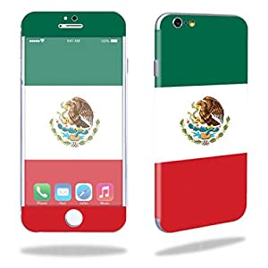 """MightySkins Protective Vinyl Skin Decal Cover for Apple iPhone 6/6S Plus 5.5"""" Cover Sticker Skins Mexican Flag"""