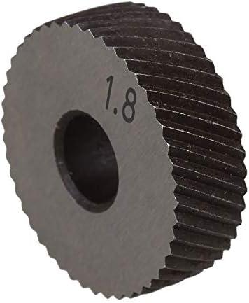NO LOGO Rändelwerkzeug Set 1 Paar 1.8mm Wälzfräser Rad Rändelrad Strukturierter Knurled Lathe Prägeradabschnitt Werkzeugmaschinen Zubehör Hebt