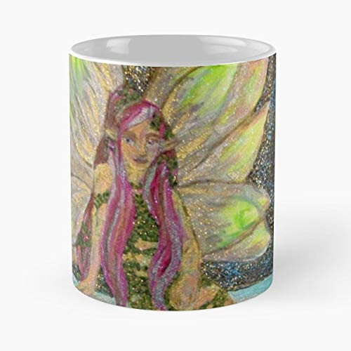 Great Fairy Pixie Nymph Gift Coffee/tea Ceramic Mug 11 Oz (The Legend Of Zelda Twilight Princess Great Fairy)
