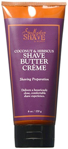 SheaMoisture Coconut & Hibiscus Shave Butter Cream - 6 oz